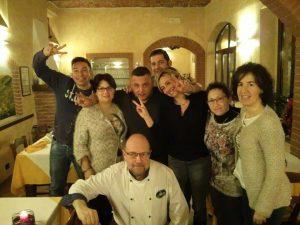 El personal de Osteria La Milonga